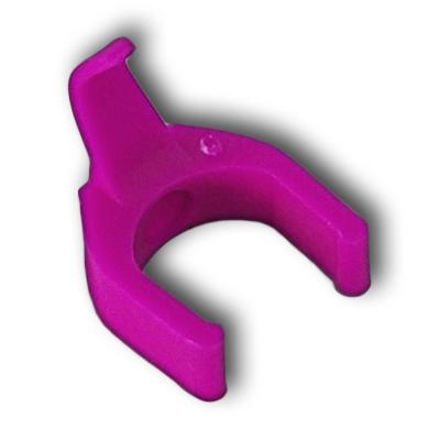 RJ45 cord color clip - Fuchsia