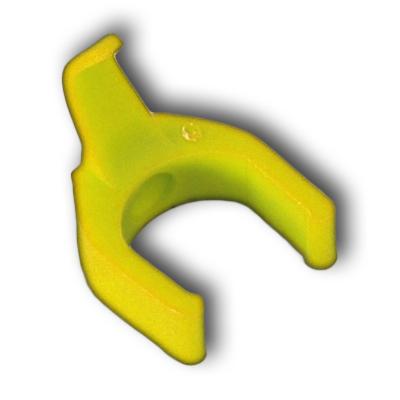RJ45 cord color clip - Yellow